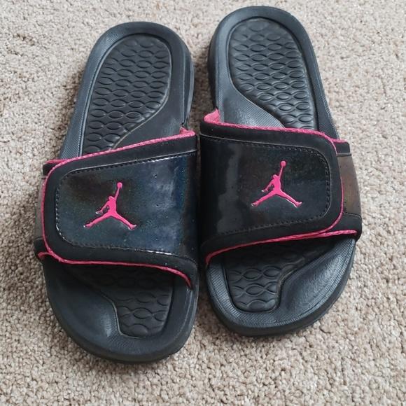 4e8a4cb3f Jordan Other - Girls Jordans Slip on Sandals 5Y